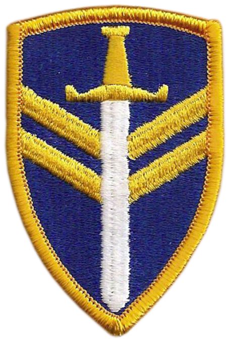 2 Support Command Patch. US Army.