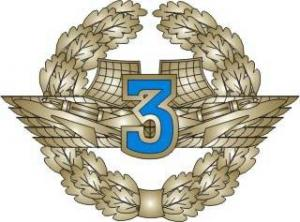 "Qualification Badge ""Specialist 3rd Class"" for contract soldiers of Air Force of the Armed Forces of Ukraine"