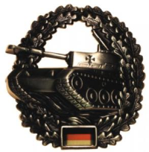 "BW Beret Metal Badge ""Armored Troops"". German Armed Forces"