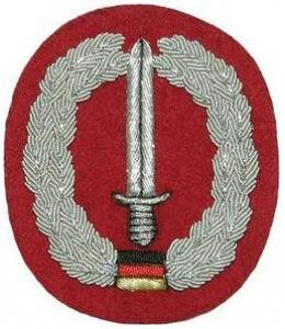 "Bundeswehr Embroidered Beret Insignia ""Special Forces"". Germany Federal Defence Force"