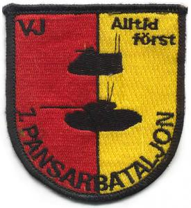 1st armored brigade Patch of the Armed Forces of Sweden
