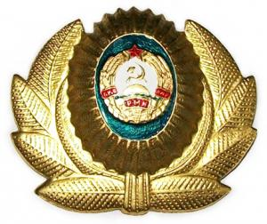 Border Guard Cap Badge Dniester Moldavian Republic