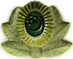 Cockade of the Armed Forces of Turkmenistan #2