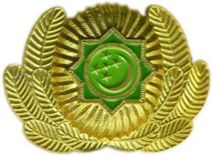 Cockade of the Armed Forces of Turkmenistan #6