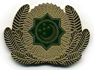 Cockade of the Armed Forces of Turkmenistan #7