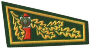 Beret Flash Patch of the Border Troops of the Republic of Belarus #1