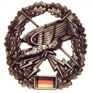 "Bundeswehr Metal Beret Insignia ""Reconnaissance"". Germany Federal Defence Force"