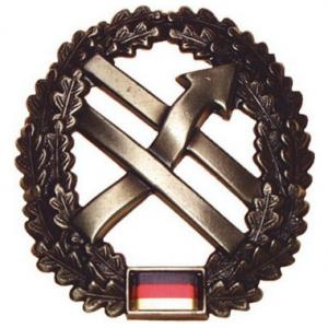 "Bundeswehr Beret Metal Insignia ""Operational Information Force"". Germany Federal Defence Force"