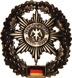 "Bundeswehr Beret Metal Insignia ""Military Police"". Germany Federal Defence Force"