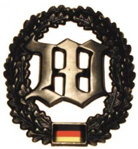 "Bundeswehr Beret Metal Insignia ""Guards Battalion"". Germany Federal Defence Force"