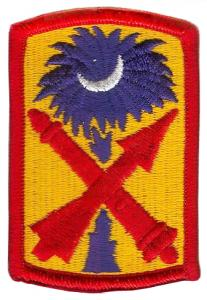 The 263rd Army Air & Missile Defense Command Color Patch. US Army
