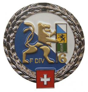 The 41st Grenadier Company of the 26th Infantry Battalion Beret Insignia of the Swiss Army
