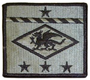 13 Finance Group Patch. US Army