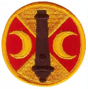 219th Fires Brigade Patch. US Army
