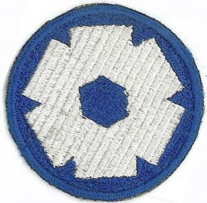 6 Corps Area Service Command Patch. US Army