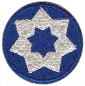 7 Corps Area Service Command Patch