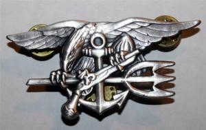 SEAL badge for enlist personel