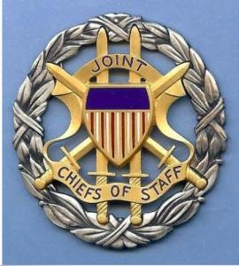 Joint  Chiefs of Staff ( JCS) Identification badge