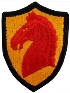 107 Armored Cavalry Regiment Patch United States