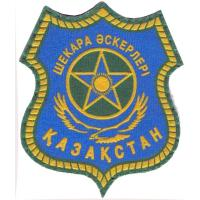 General Patch of the Border Troops of the Republic of Kazakhstan. Since 1995 to 1997