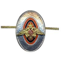 Cap Metal Badge of sergeants, soldiers and cadets of the Federal Border Service of Russia