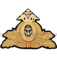 Admirals Navy Cap Badge of the Russian Federation