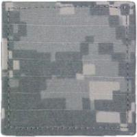 ACU Army Blank (Private / Soldier) Rank Insignia with Velcro
