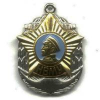 Breast Badge Cadet Nakhimov Naval College of the Armed Forces of Russia