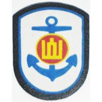 Patch of the Navy of the Armed Forces of Lithuania Option 1