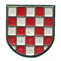 Croatian Army Metal Badge