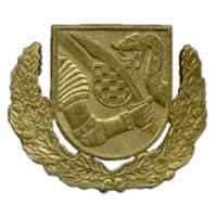Beret Badge of the 2nd Gardijska Brigada HVO Croatia