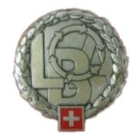 Armed Forces Logistics Organisation Beret Badge. Switzerland