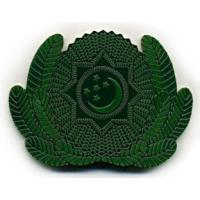Subdued Cockade of the Armed Forces of Turkmenistan #8