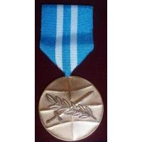 "National Armed Forces Commander's Award - commemorative medal ""For participation in international operations"" /Latvian National Armed Forces/"