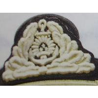 Naval Forces Vice Admirals embroidered cockade /Latvian National Armed Forces/