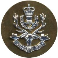 The Highlanders,cap badge