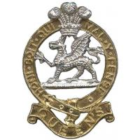 The Princess of Wales Royal Regiment, cap badge