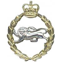 The Kings Own  Border Regiment cap badge
