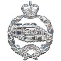 The Royal Tank Regiment beret badge