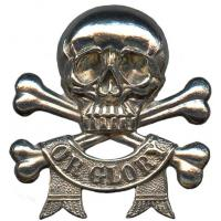 17th/21th Lancers Regiment cap badge