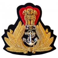 Officer's embroidered badge Navy India