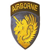 The 13 Airborne Division Patch. US Army