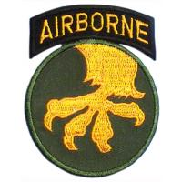 The 17 Airborne Division Patch. US Army