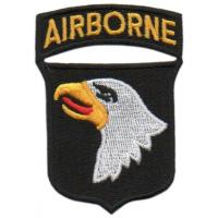 The 101st Airborne Division Patch. US Army