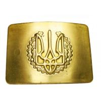 Brass belt buckle of the Armed Forces of Ukraine