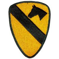 1st Cavalry Division Patch. US Army