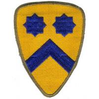 2d Cavalry Division Patch. US Army