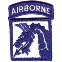 18 Airborne Corps Patch. US Army