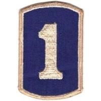 1 Infantry Brigade Patch. US Army