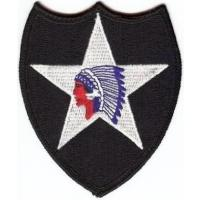 2 Infantry Division Patch. US Army